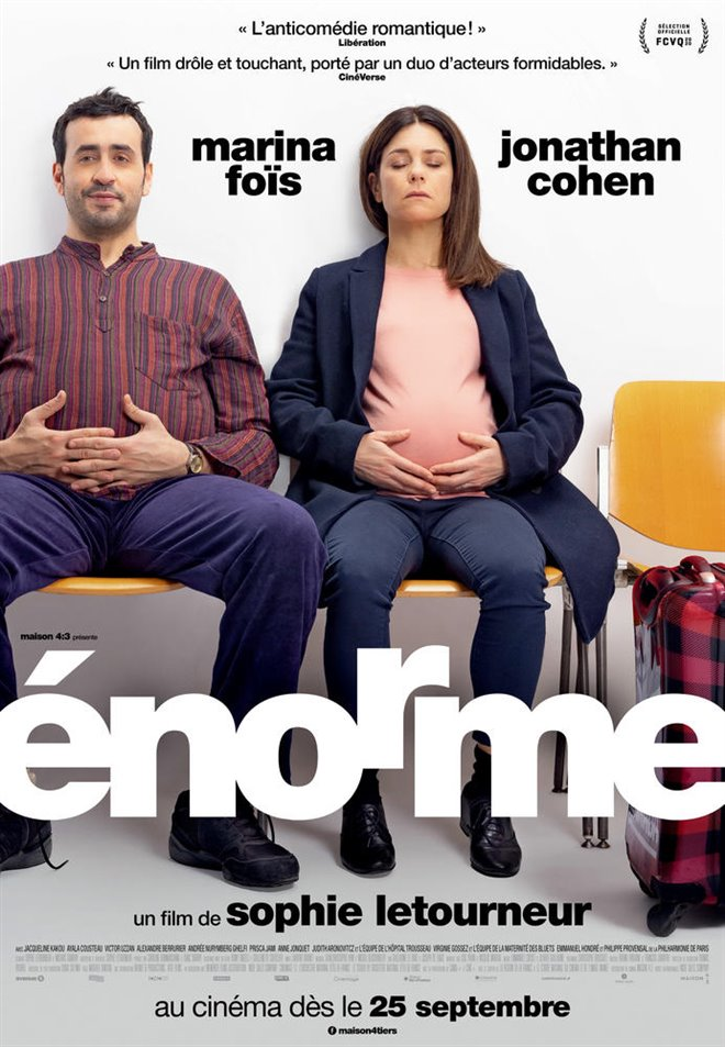 Énorme Large Poster
