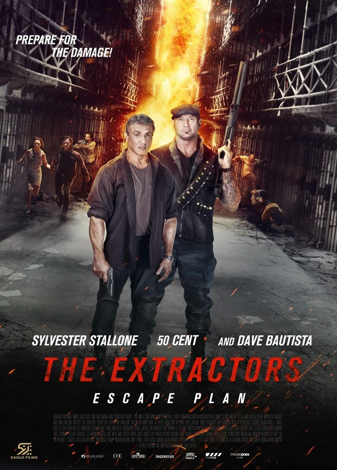 Escape Plan: The Extractors Large Poster