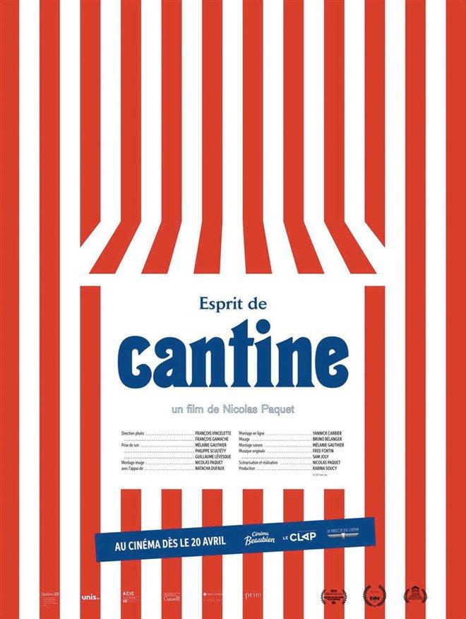 Esprit de cantine (v.o.f.) Large Poster