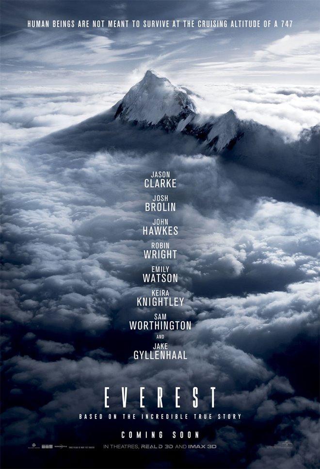 Everest Large Poster