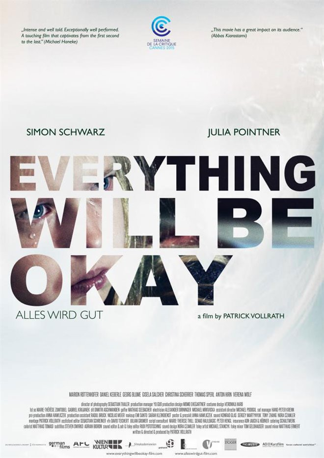 Everything Will Be Okay (Short) Large Poster