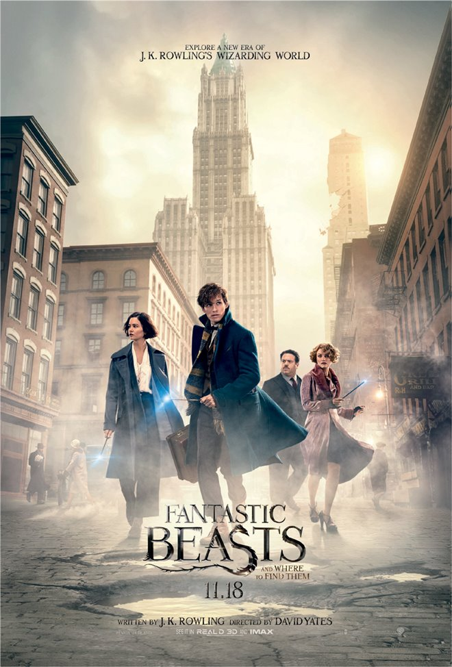 Fantastic Beasts and Where to Find Them Large Poster