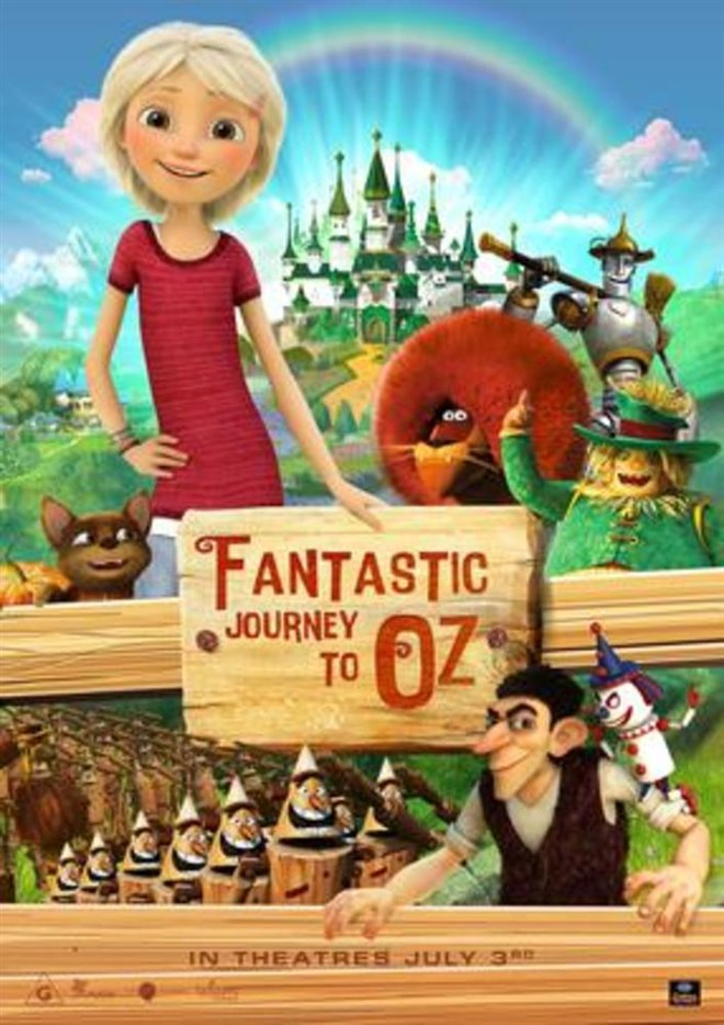 Fantastic Journey to Oz Poster