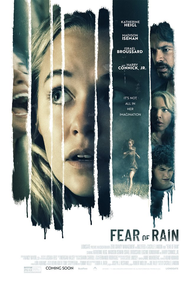 Fear of Rain Large Poster