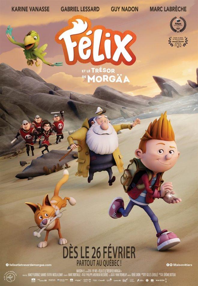 Félix et le trésor de Morgäa Large Poster