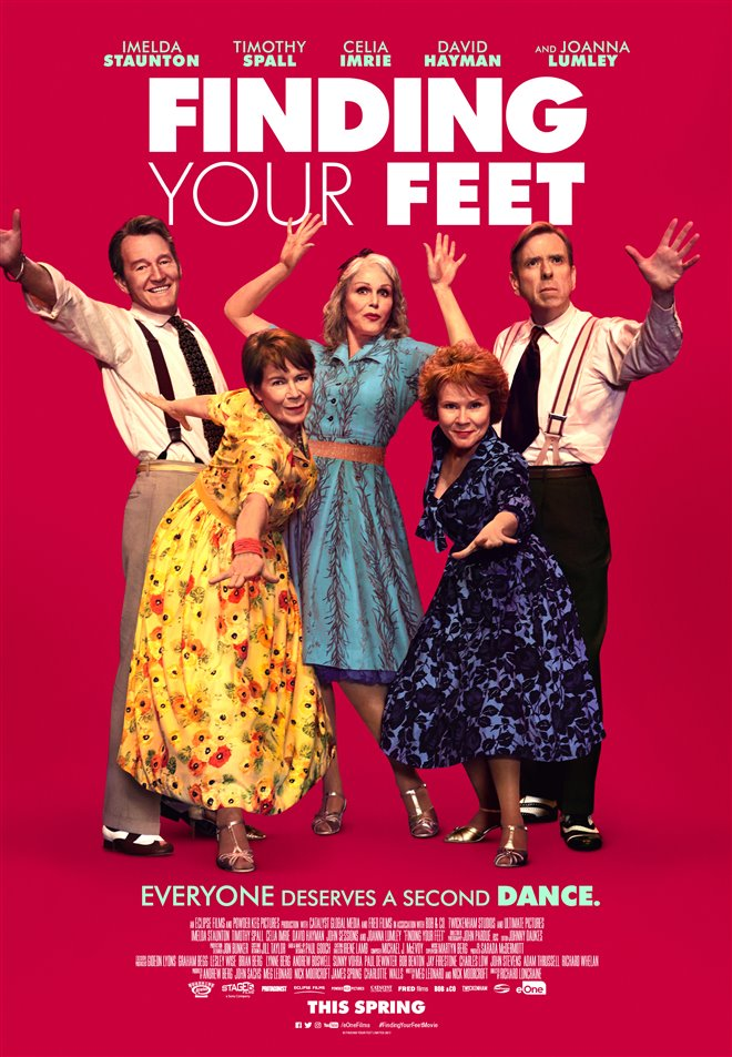Finding Your Feet (v.o.a.) Large Poster