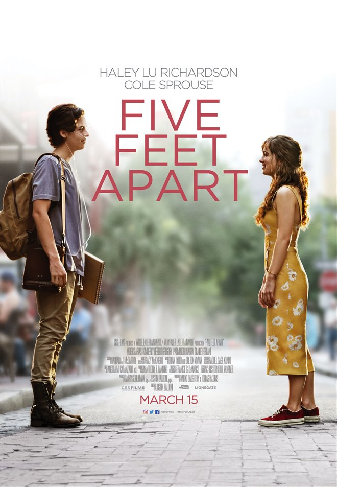 Five Feet Apart Large Poster