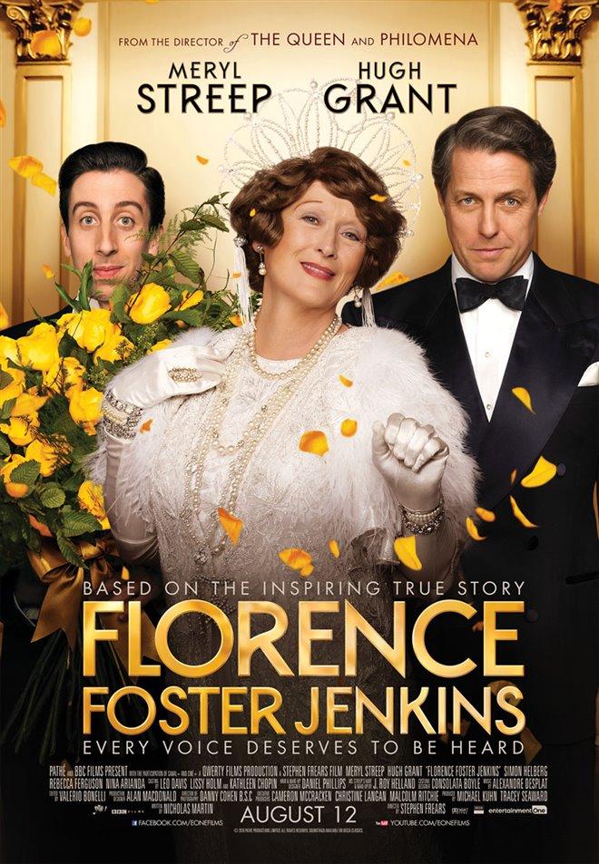 Florence Foster Jenkins (v.f.) Large Poster