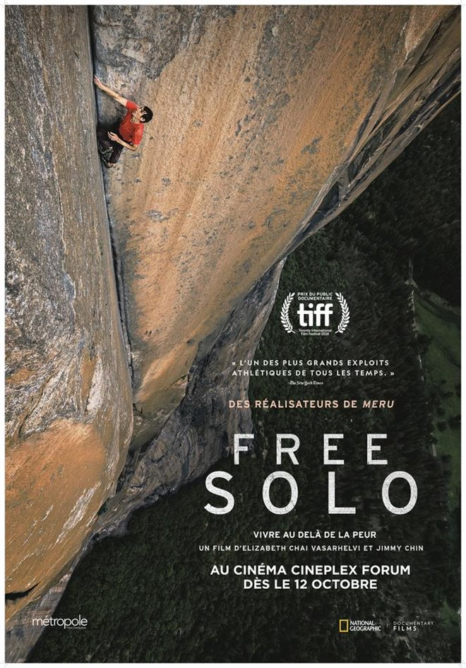 Free Solo (v.o.a.) Large Poster