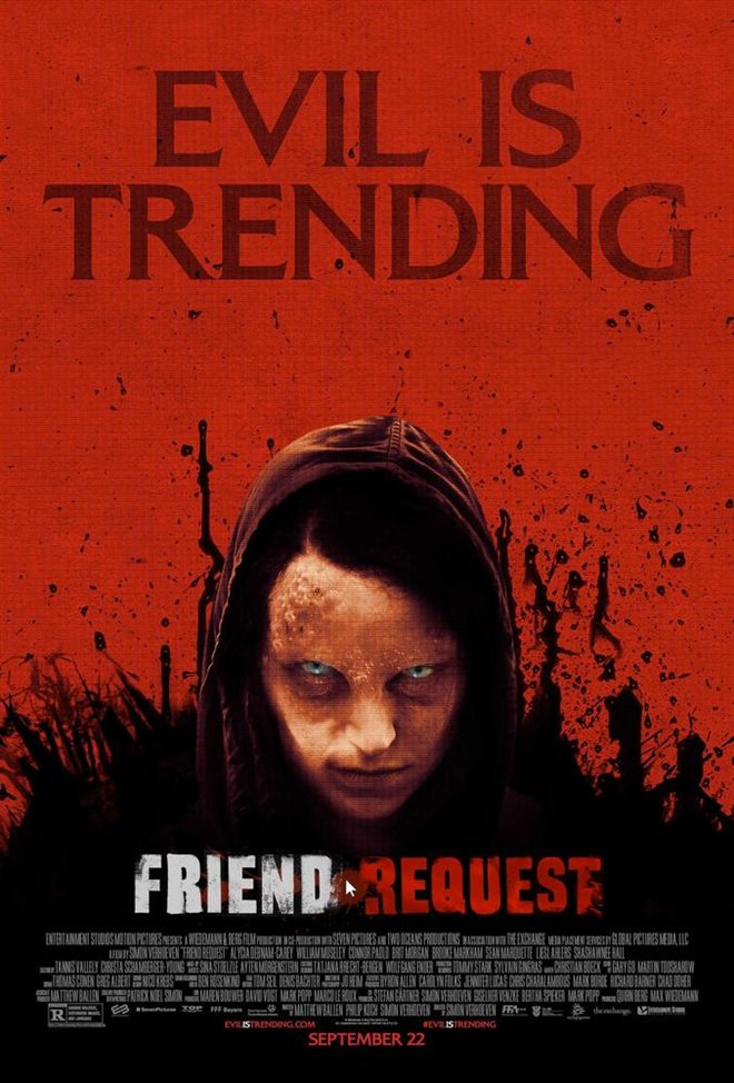 Friend Request (v.o.a.) Large Poster