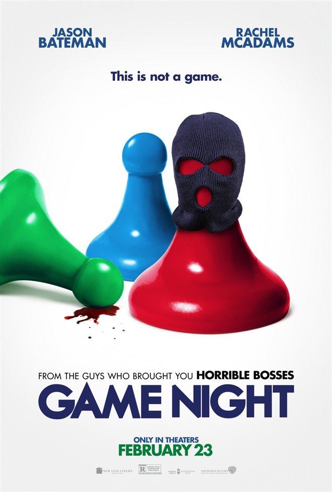 Game Night Large Poster