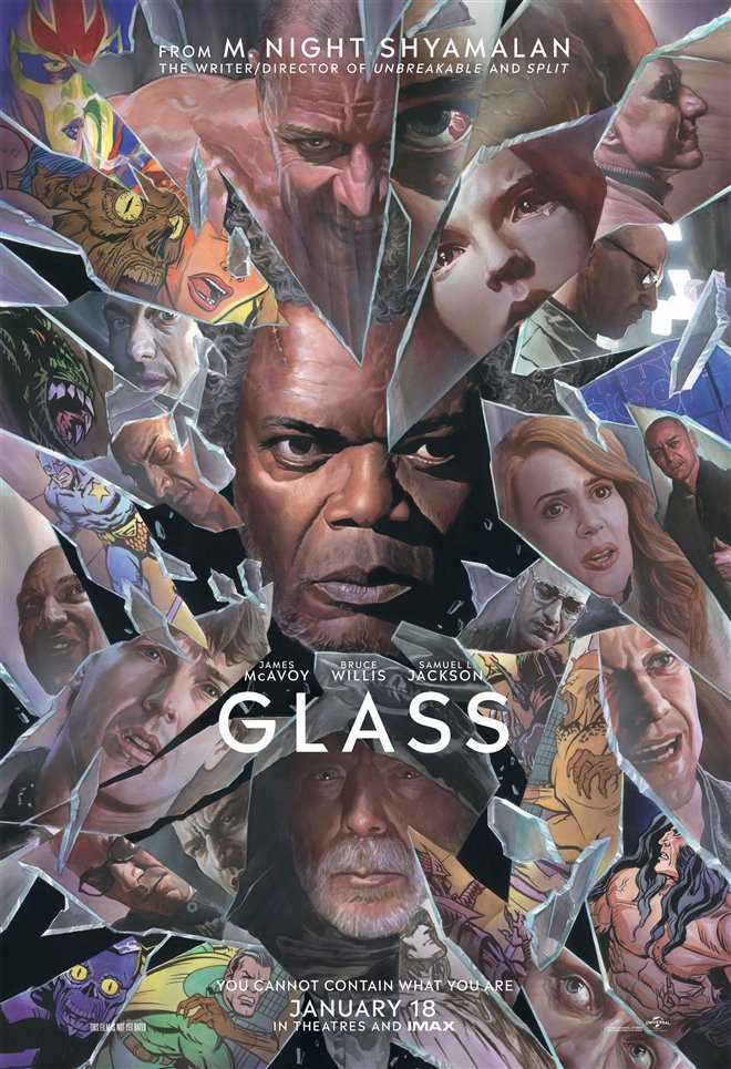 Glass Large Poster