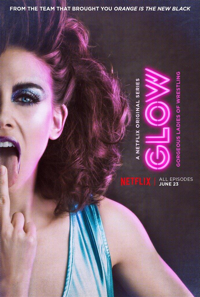 GLOW (Netflix) Large Poster