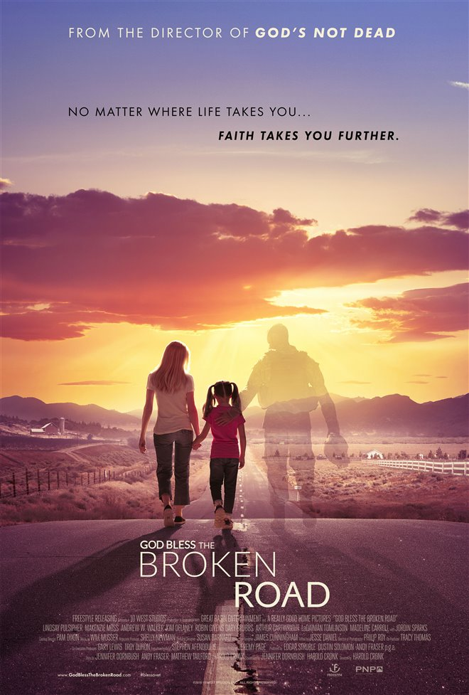 God Bless the Broken Road Large Poster