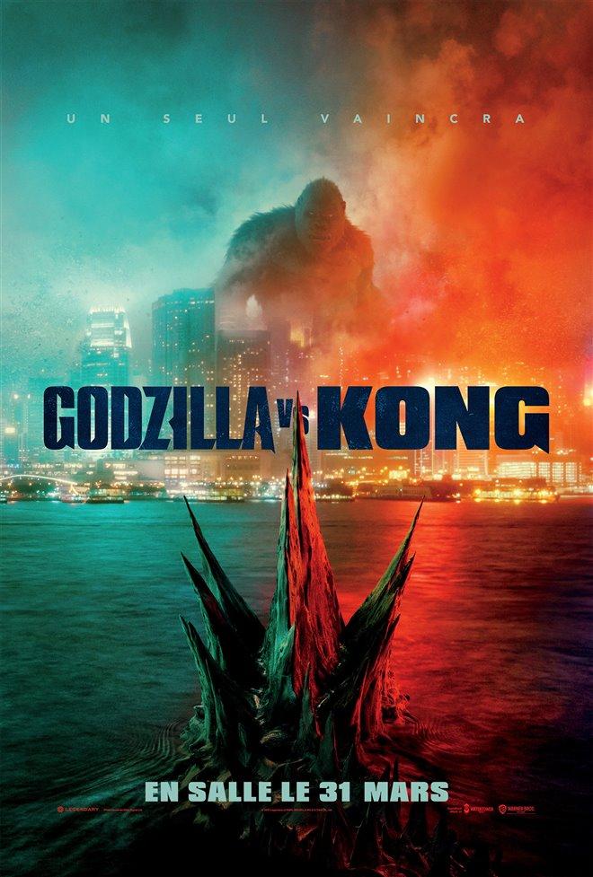 Godzilla vs Kong (v.f.) Large Poster