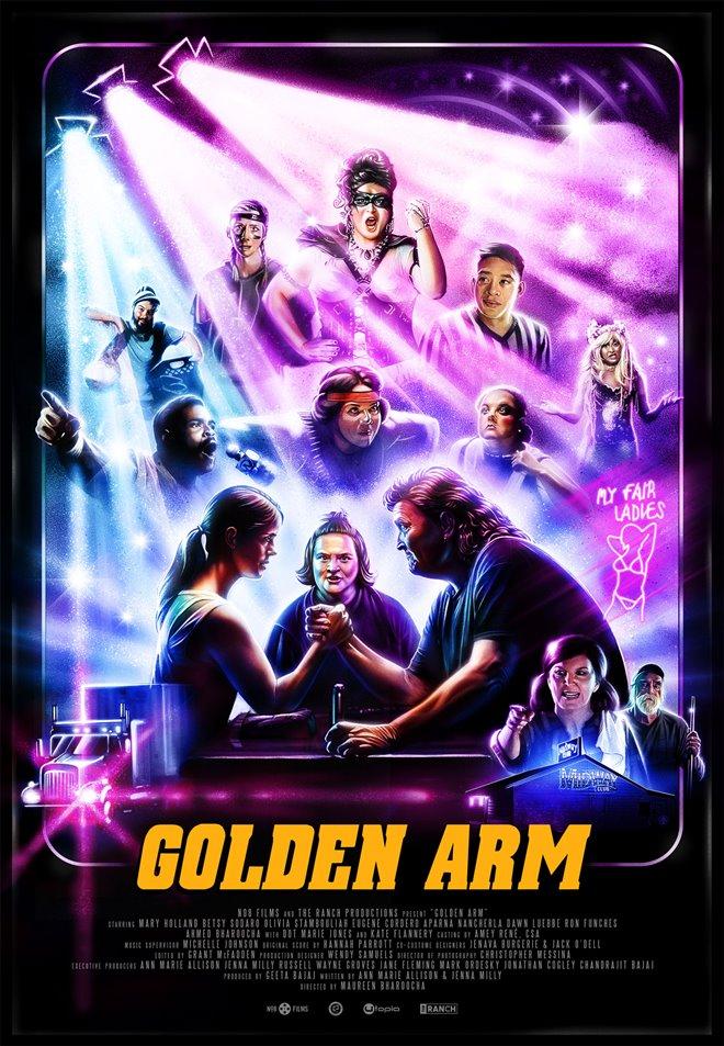 Golden Arm Large Poster