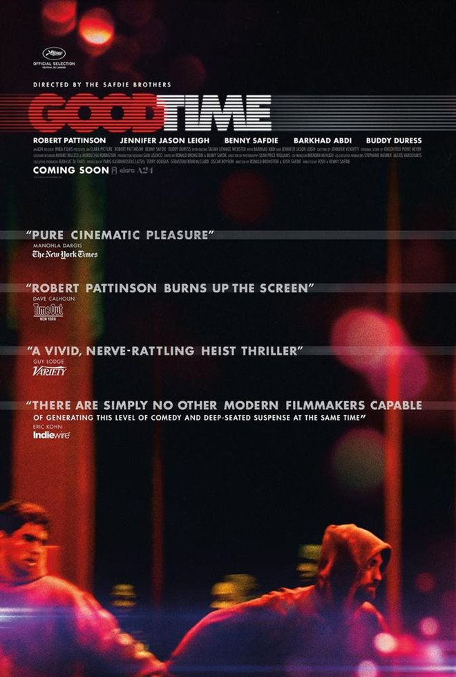 Good Time : Une nuit sous tension (v.o.a.s-.t.f) Large Poster