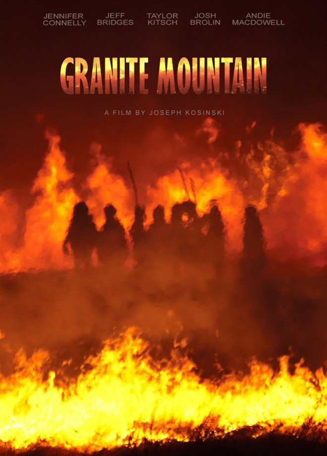 Granite Mountain Large Poster