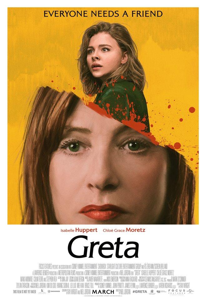 Greta Large Poster