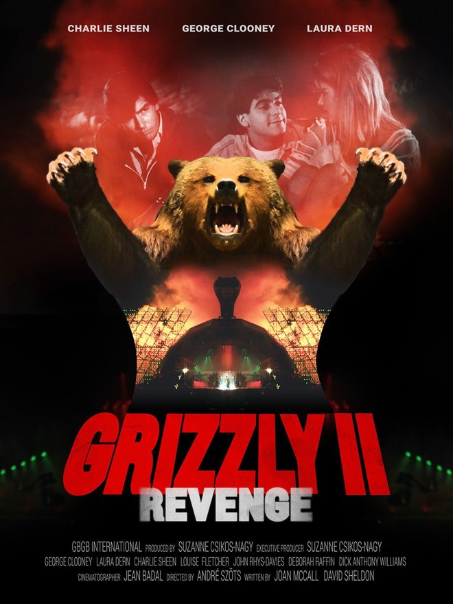 Grizzly II: Revenge Large Poster