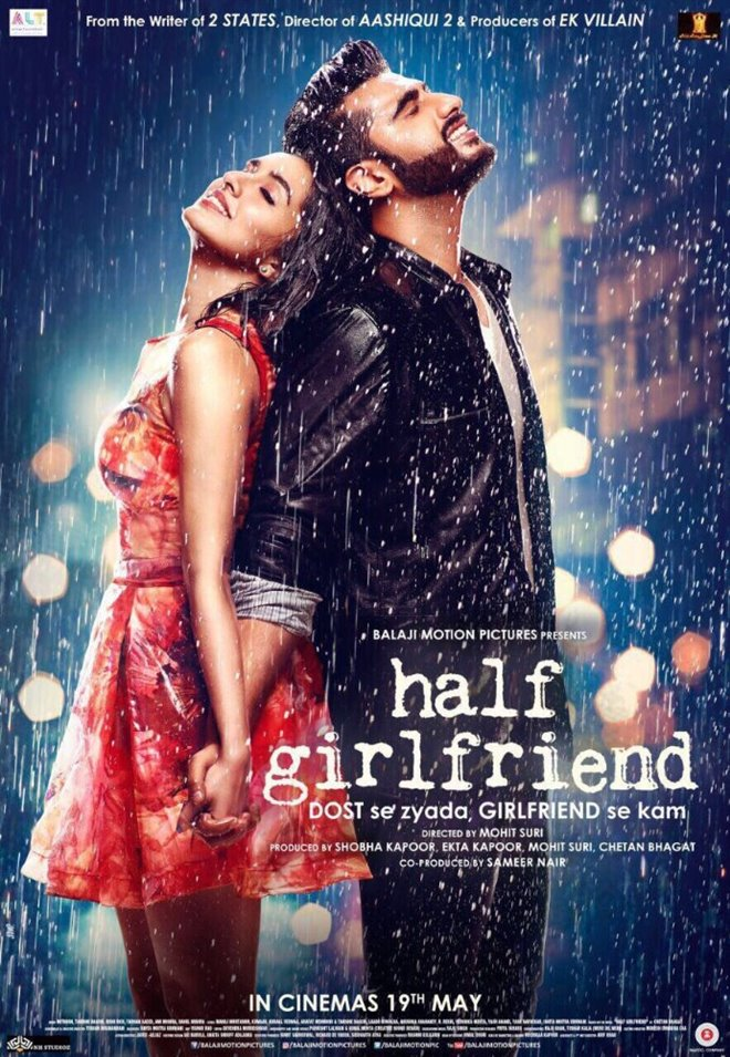Half Girlfriend Large Poster