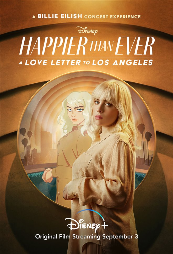 Happier than Ever: A Love Letter to Los Angeles (Disney+) Large Poster