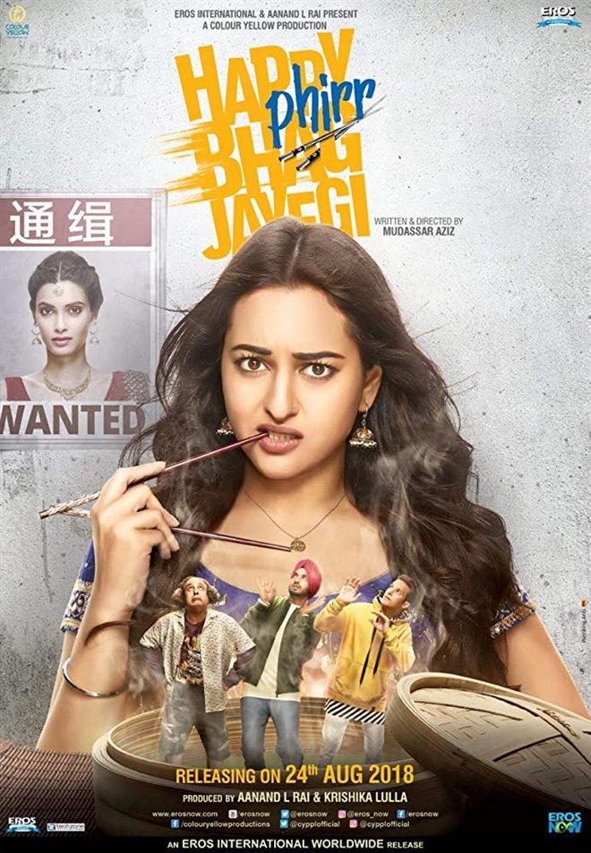 Happy Phirr Bhag Jayegi Large Poster