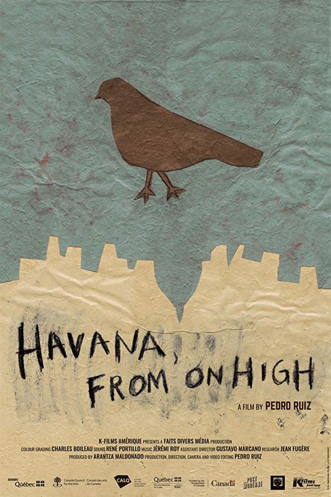 Havana, From on High Large Poster