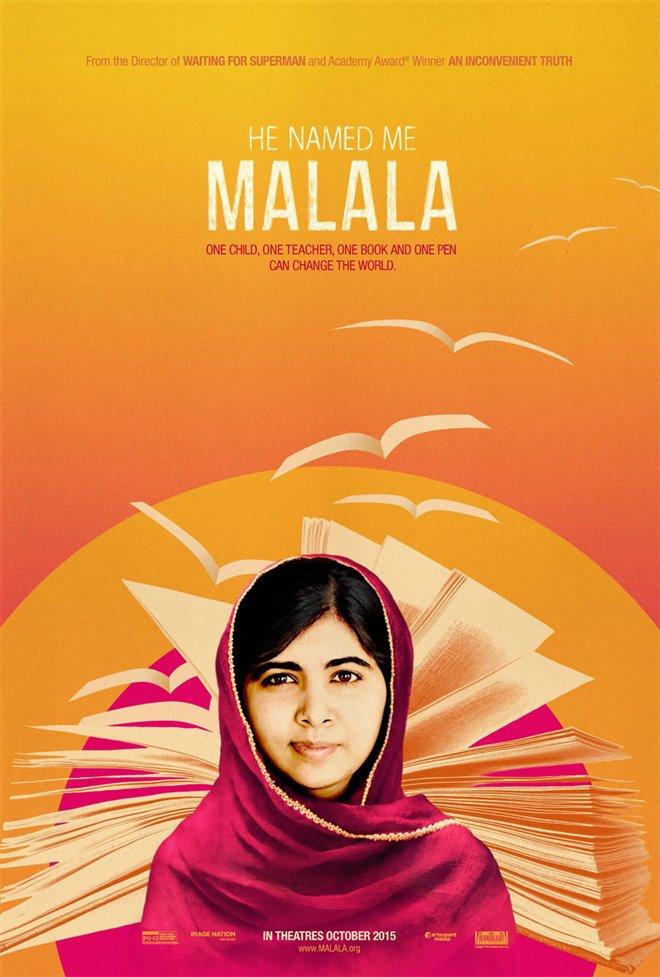 He Named Me Malala (v.o.a.) Large Poster