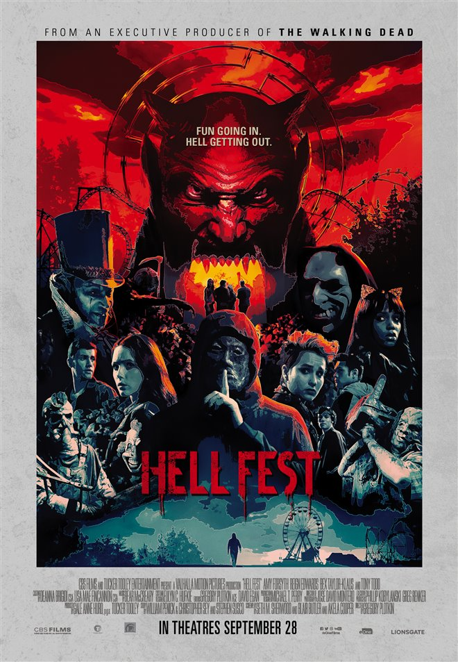 Hell Fest Large Poster