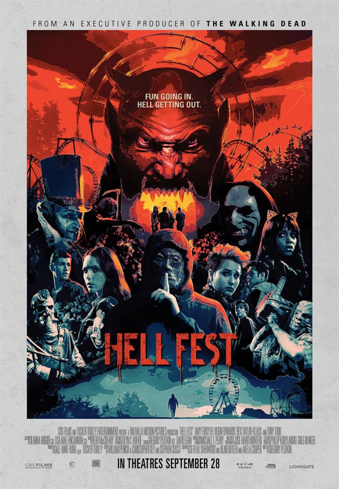 Hell Fest (v.o.a.) Large Poster
