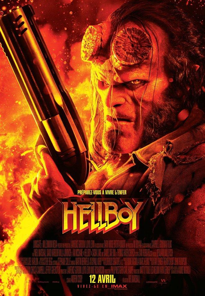 Hellboy (v.f.) Large Poster