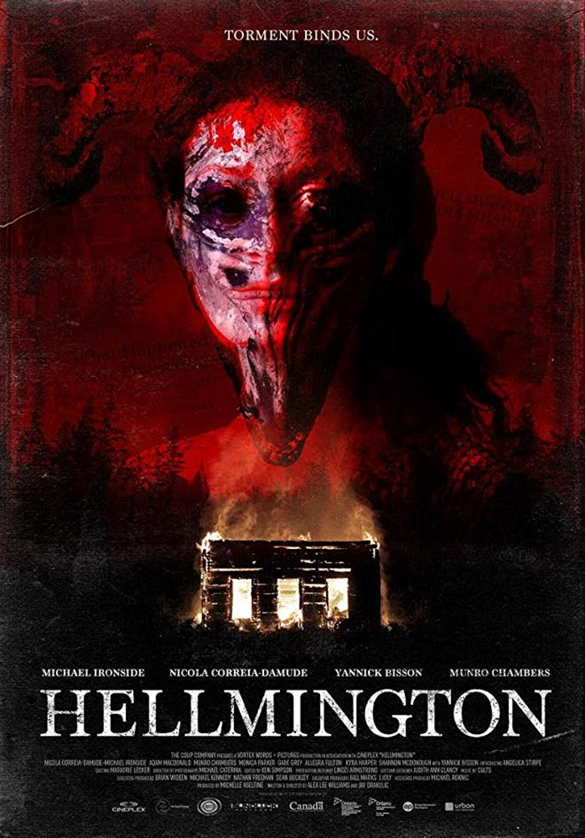 Hellmington Large Poster