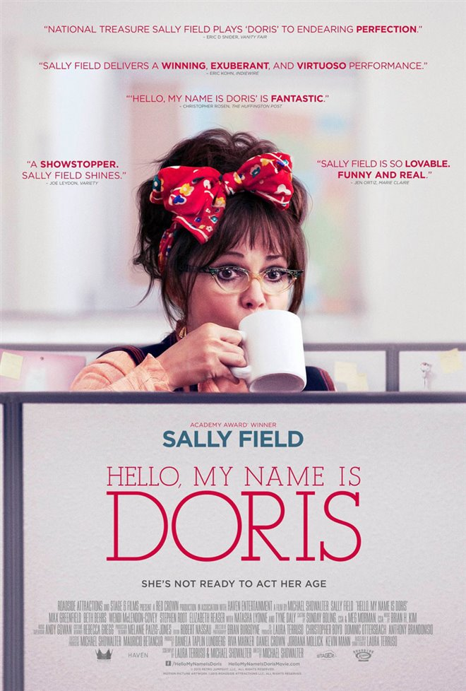 Hello, My Name Is Doris Large Poster