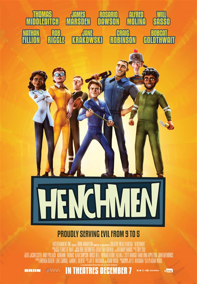 Henchmen Large Poster