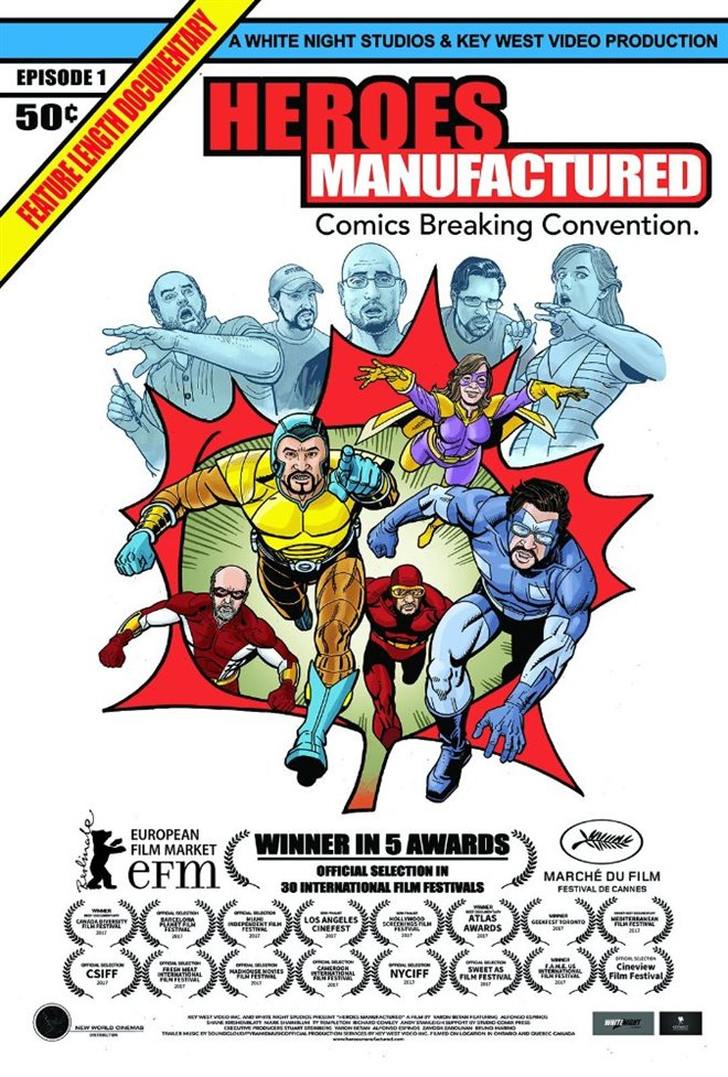 Heroes Manufactured Large Poster