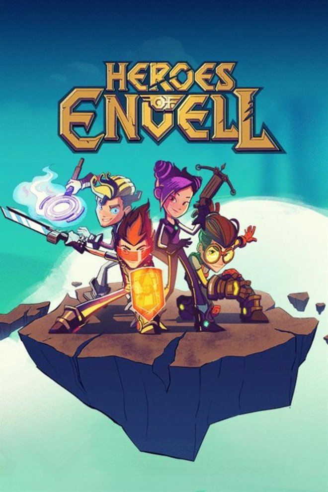 Heroes of Envell Large Poster