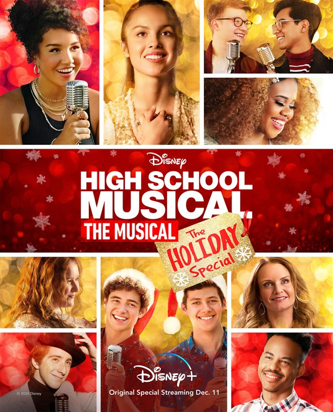 High School Musical: The Musical - The Holiday Special (Disney+) Large Poster