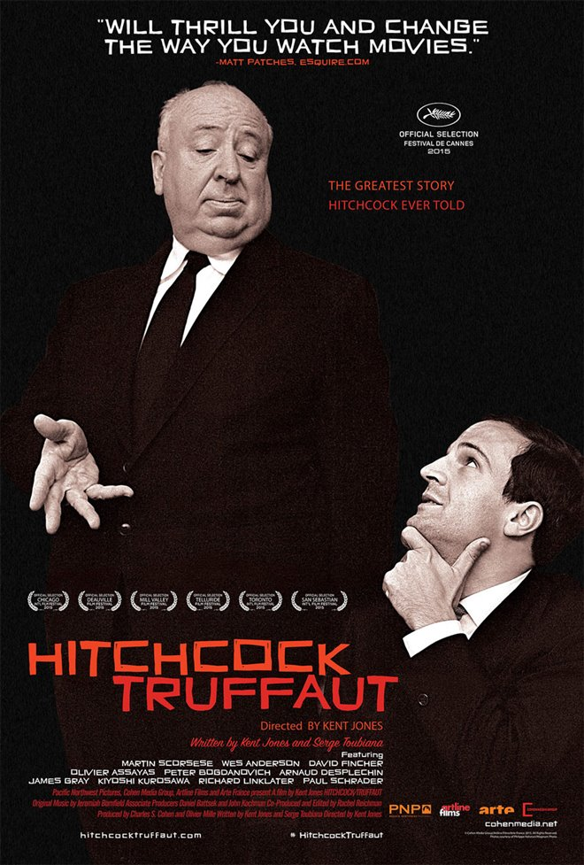 Hitchcock/Truffaut Large Poster