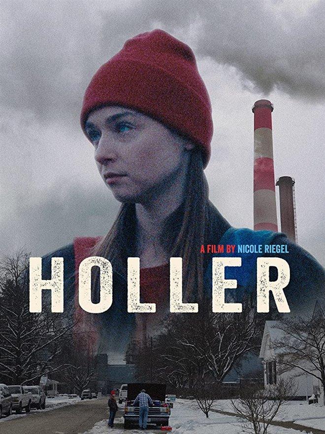 Holler Large Poster
