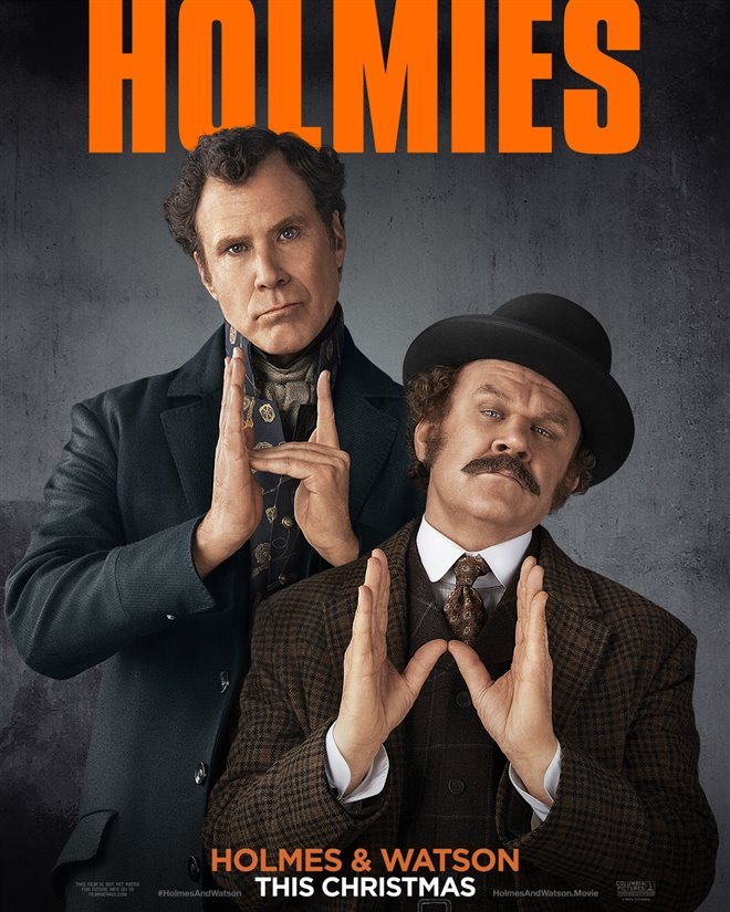 Holmes & Watson Large Poster