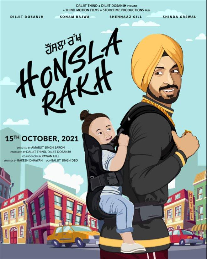 Honsla Rakh Poster