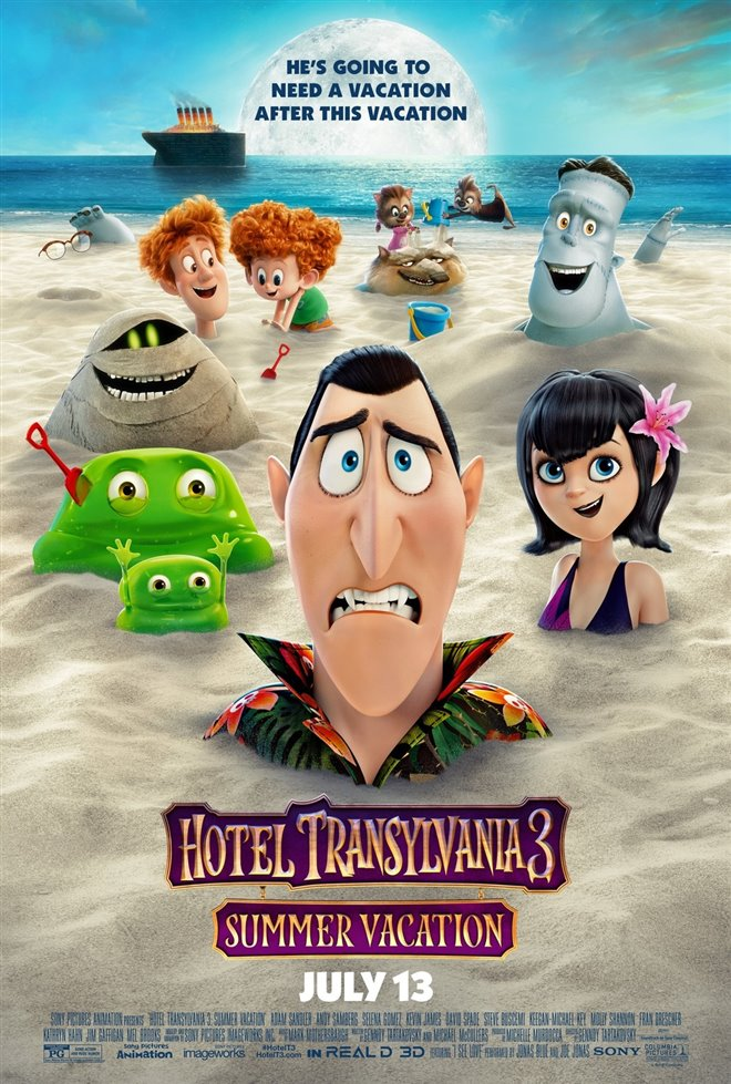 Hotel Transylvania 3: Summer Vacation Large Poster