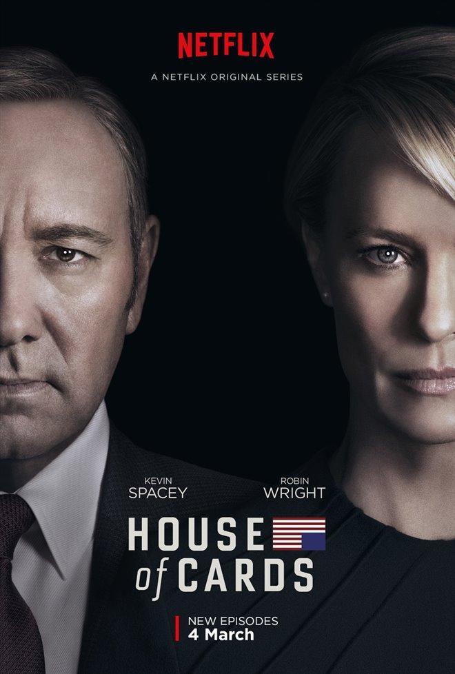 House of Cards: Season 4 (Netflix) Large Poster