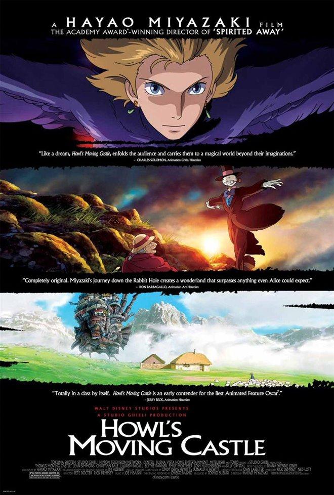 Howl's Moving Castle (Subtitled) Large Poster