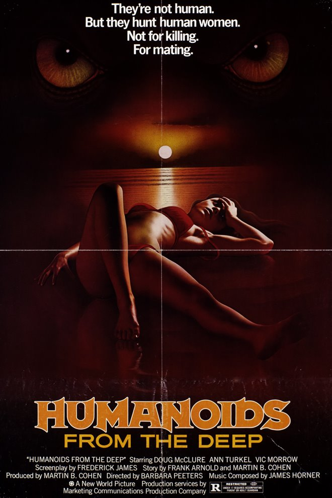 Humanoids from the Deep (1980) Large Poster