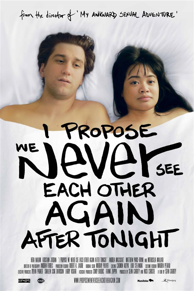 I Propose We Never See Each Other Again After Tonight Poster