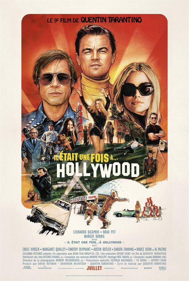 Il était une fois à Hollywood Large Poster