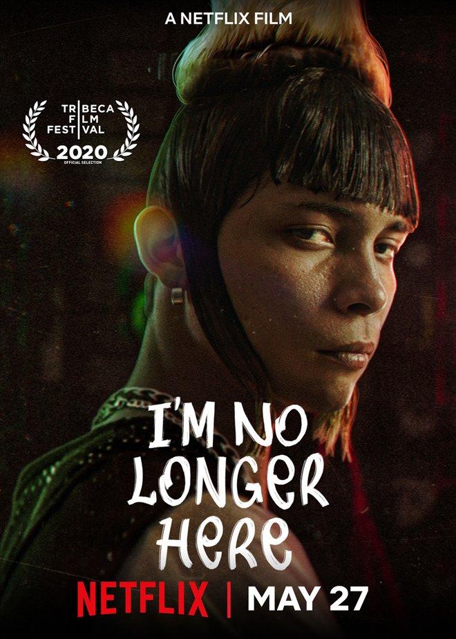 I'm No Longer Here (Netflix) Large Poster