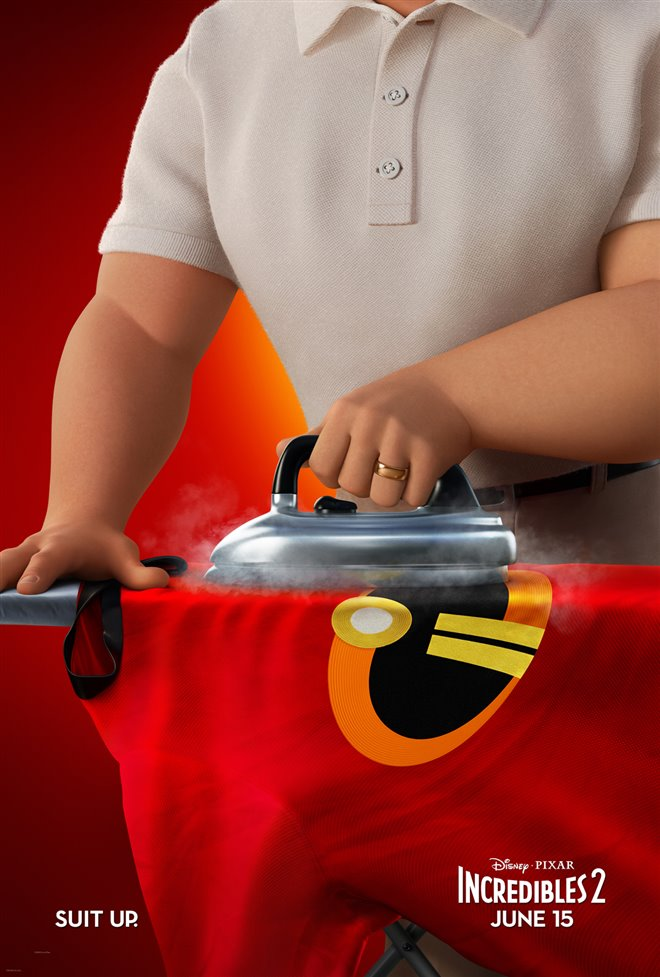 Incredibles 2 Large Poster